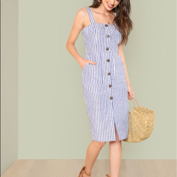 d34141703 Zara Dresses   Button Down Summer Dress   Poshmark